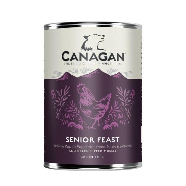 Canagan Senior Feast Can Wet Dog Food The Pet Parlour Dublin