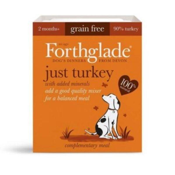 Forthglade Just 90% Turkey Natural Wet Dog Food
