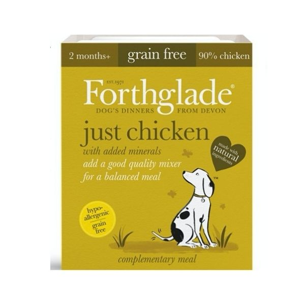 Forthglade Just Chicken 90% From The Pet Parlour Dublin