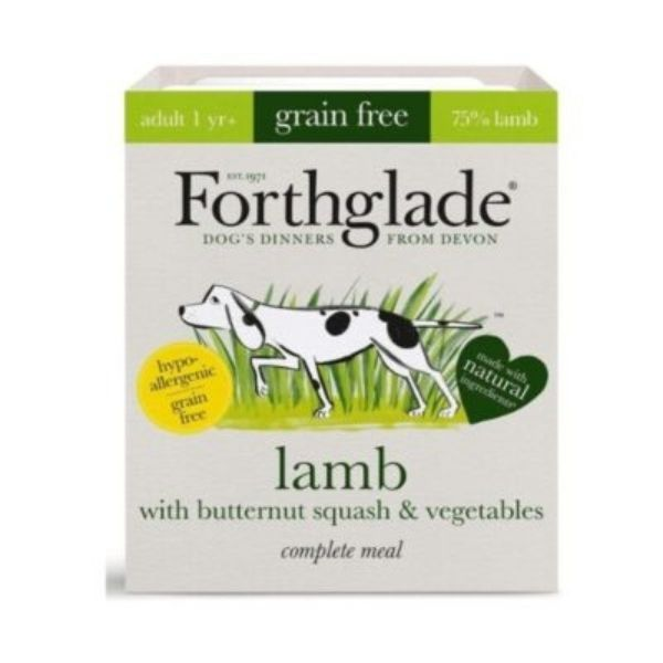 Forthglade Lamb with Butternut squash & Vegetables Grain Free Complete