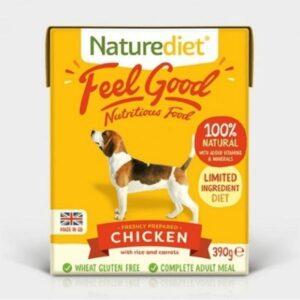 Naturediet Feel Good Chicken Wet Dog Food The Pet Parlour Dublin