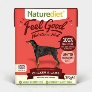 Naturediet Feel Good Chicken & Lamb Wet Dog Food The Pet Parlour Dublin