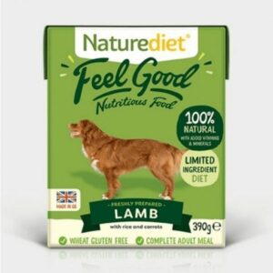 Naturediet Feel Good Lamb Wet Dog Food The Pet Parlour Dublin
