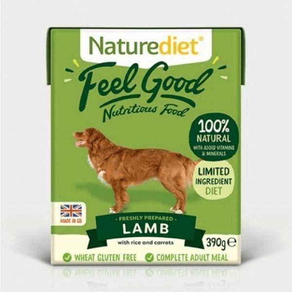 Naturediet Feel Good Lamb Wet Dog Food The Pet Parlour Dublin