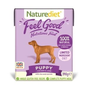 Naturediet Feel Good Puppy Junior Wet Dog Food The Pet Parlour Dublin