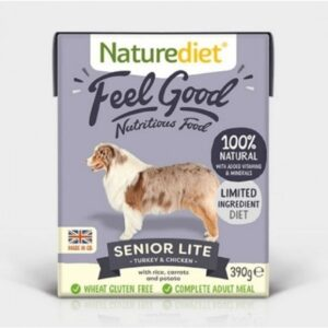 Naturediet Feel Good Senior Lite Wet Dog Food The Pet Parlour Dublin