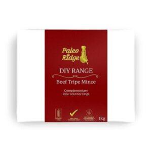 Paleo Ridge Beef Tripe Mince from The Pet Parlour Dublin