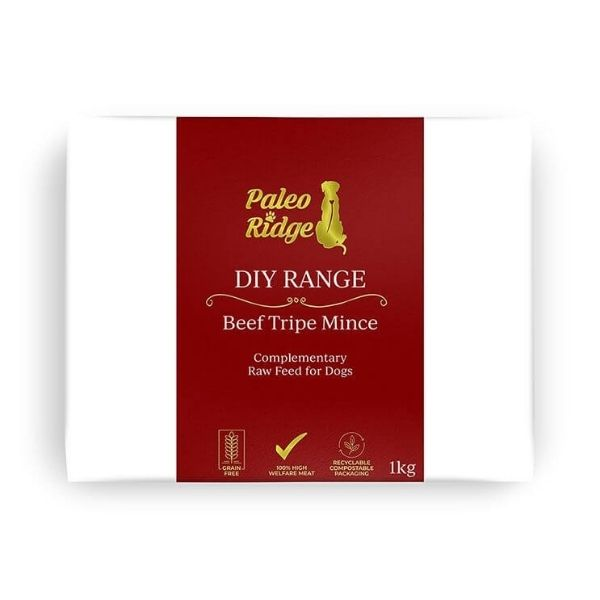 Paleo Ridge Beef Tripe Mince from The Pet Parlour Dublin
