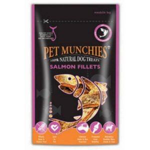 Pet Munchies Salmon Fillets Chews The Pet Parlour Dublin