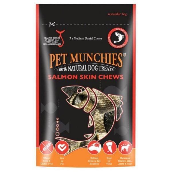 Pet Munchies Salmon Skin Chews The Pet Parlour Dublin