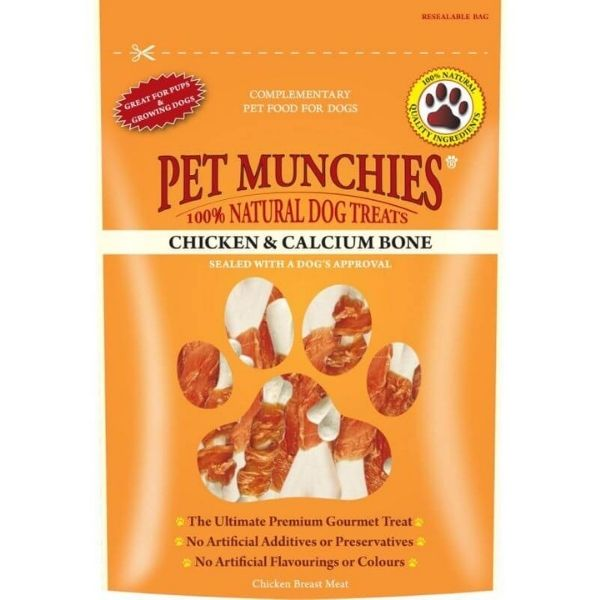 Pet Munchies Chicken Calcium Bone The Pet Parlour Dublin