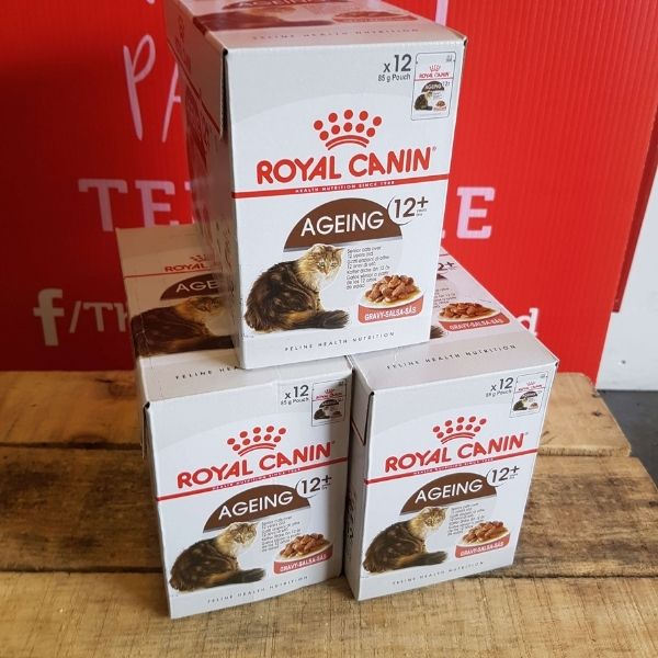Royal Canin Ageing 12+ in Gravy x 12, Wet Cat Food, Royal Canin, The Pet Parlour Terenure Dublin