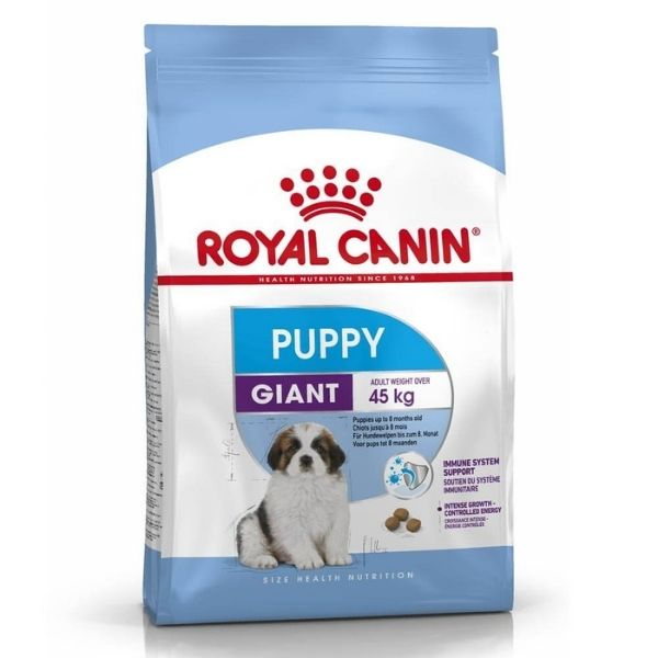 Royal Canin Giant Puppy Dry Dog Food From The Pet Parlour Dublin