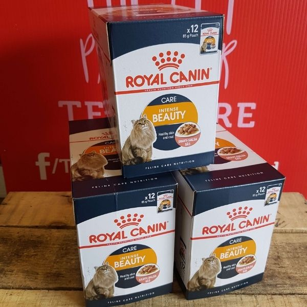 Royal Canin Intense Beauty in Gravy x 12, Wet Cat Food, Royal Canin, The Pet Parlour Terenure Dublin