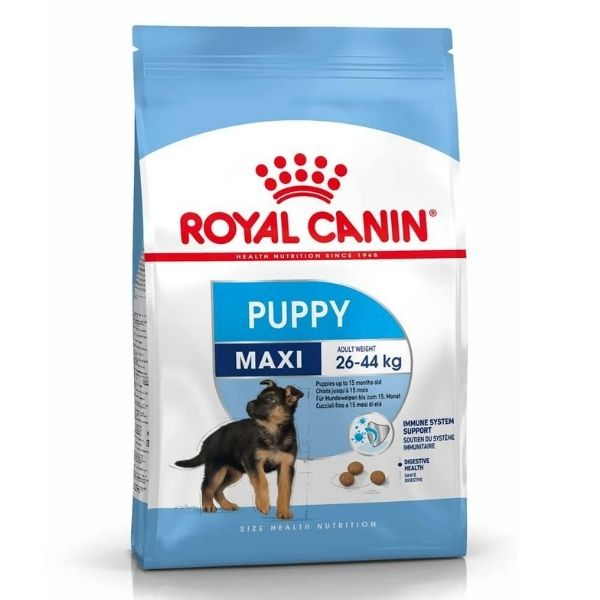 Royal Canin Maxi Puppy Dry Dog Food From The Pet Parlour Dublin
