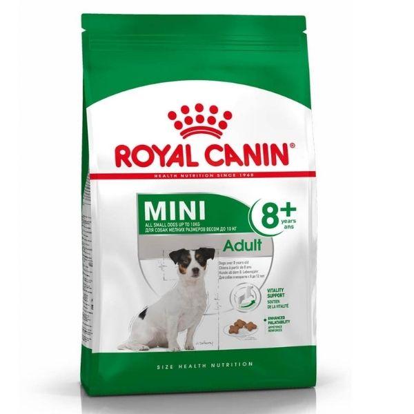 Royal Canin Mini Adult 8+ Dry Dog Food From The Pet Parlour Dublin