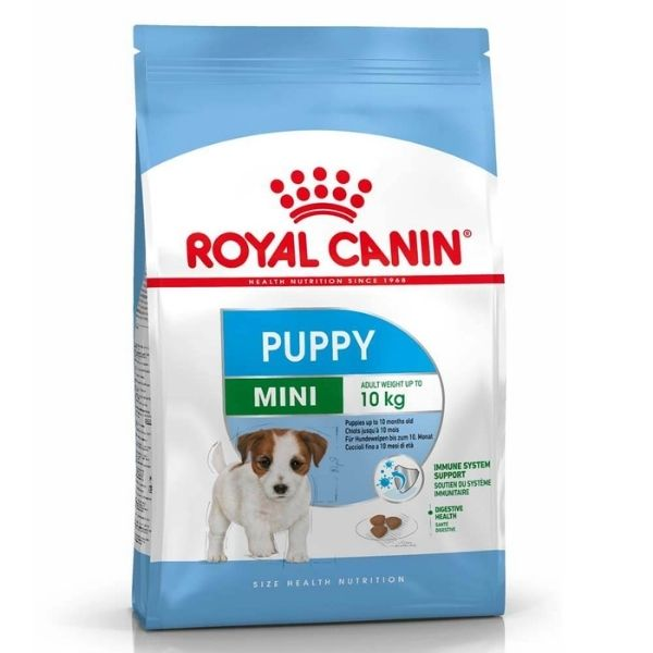 Royal Canin Mini Puppy Dry Dog Food available from The Pet Parlour Dublin