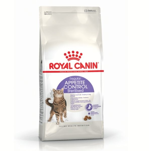 Royal Canin Sterilised Appetite Control Cat Food From The Pet Parlour Dublin