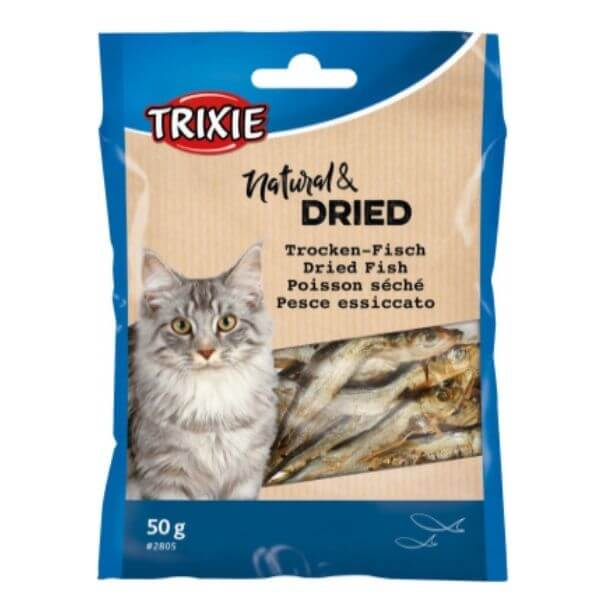 Trixie Dried Fish Treats For Cats
