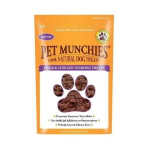 Pet Munchies Liver & Chicken Training Treats The Pet Parlour Dublin