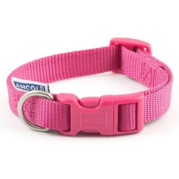 Ancol Dog Collar Pink the pet parlour dublin