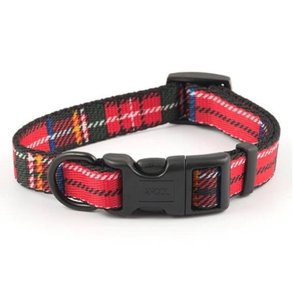 Ancol Dog Collar Tartan the pet parlour dublin