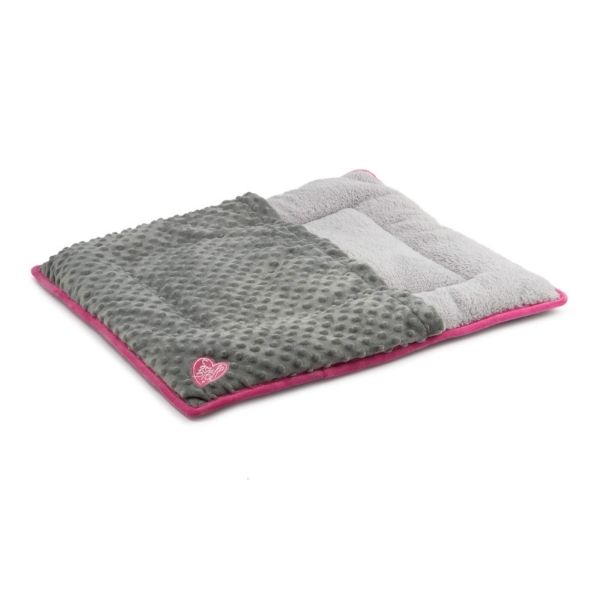 Ancol Snuggle Pad For Dogs Pink