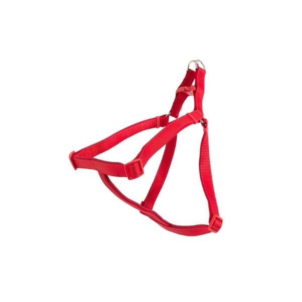 Ancol padded dog harness red the pet parlour dublin
