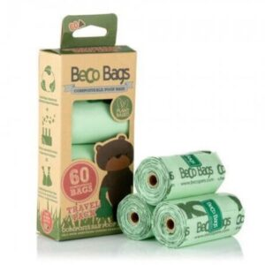 BECO 60 COMPOSTABLE POOP BAGS