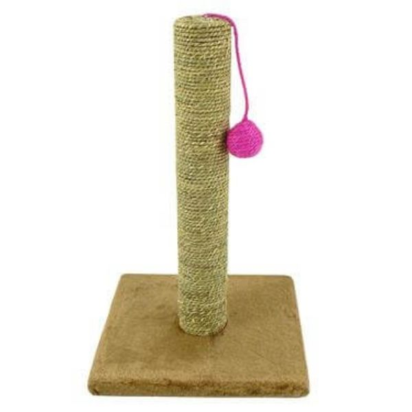 Base Camp Seagrass Play Scratch Post 46cm