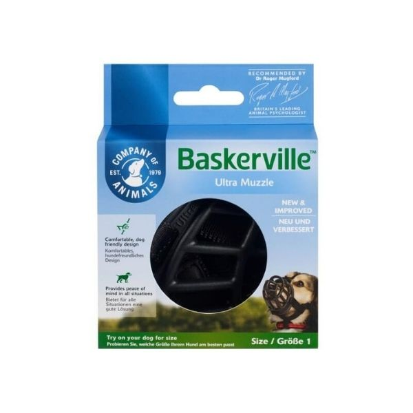 Baskerville Ultra Dog Muzzle From the pet parlour dublin