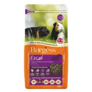 Burgess GUINEA PIG Food from the pet parlour Dublin