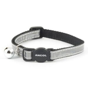 Ancol Reflective silver Cat Collar From The Pet Parlour Dublin
