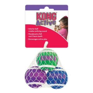 Kong Active Ball with Bells Cat Toy from The Pet Parlour Dublin