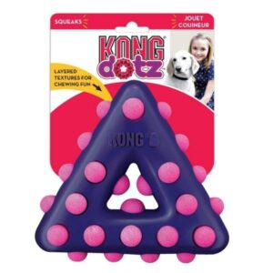 Kong Dotz Triangle Dog Toy From The Pet Parlour Dublin