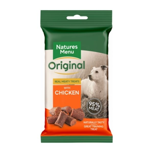 NATURES MENU CHICKEN training treats FOR DOGS.