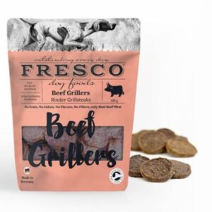 Fresco Beef Grillers Dog Treats From The Pet Parlour Dublin