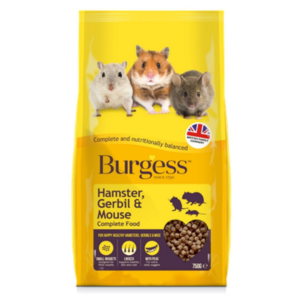 Burgess Hamster Gerbil Mouse Food from The Pet Parlour Dublin