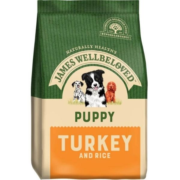 James Wellbeloved Turkey & Rice Puppy Dog Food Pet Parlour Ireland