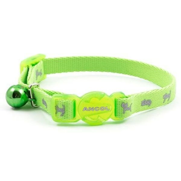 Ancol Litten Green Hi-Viz Collar Pet Parlour Dublin