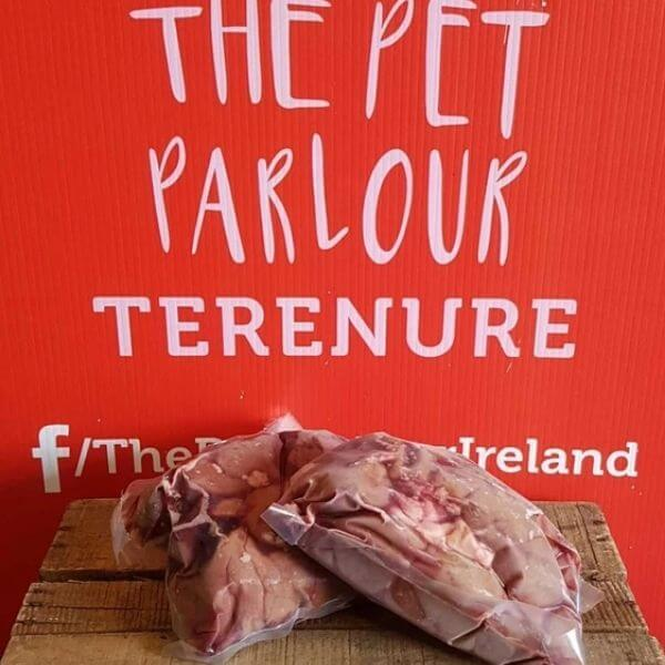 Raw Beef Liver Chunks The Pet Parlour Dublin