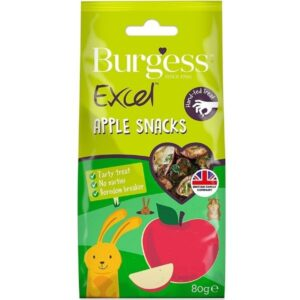 Burgess Excel Apple Snacks for small pets the pet parlour dublin