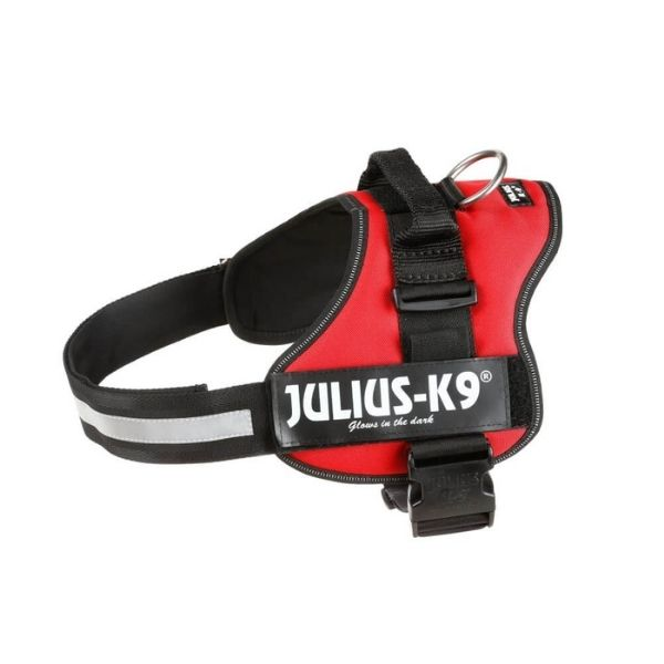 Julius K-9 Harness Red The Pet Parlour Dublin