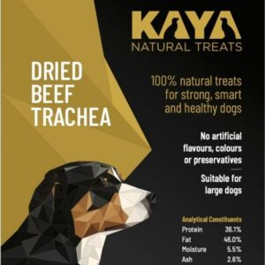 Kaya Natural Treats Beef Trachea from The Pet Parlour Dublin