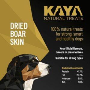 Kaya Natural Treats Boar skin from The Pet Parlour Dublin