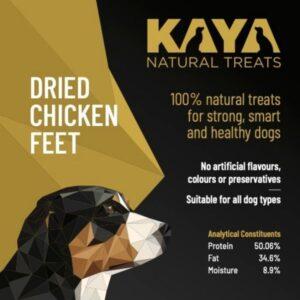 Kaya Natural Treats Chicken Feet from The Pet Parlour Dublin