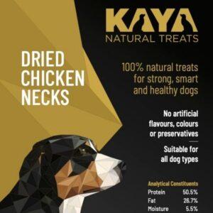 Kaya Natural Treats Dried Chicken Necks from The Pet Parlour Dublin