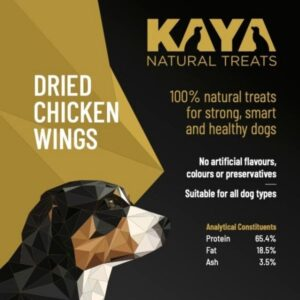 Kaya Natural Treats Dried Chicken Wings from The Pet Parlour Dublin