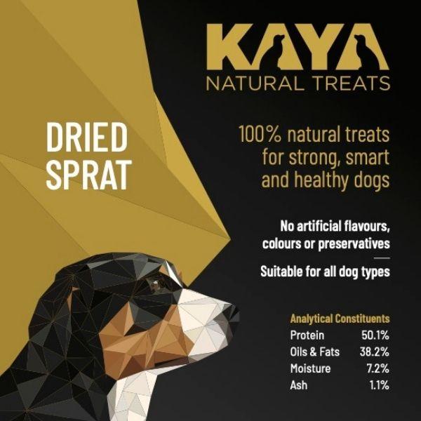 Kaya Natural Treats Dried Sprat from The Pet Parlour Dublin