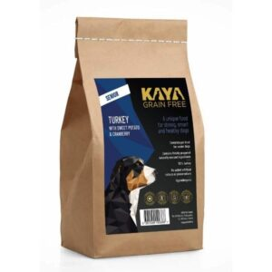 Kaya Grain Free Dog Food Senior Turkey The Pet Parlour Ireland